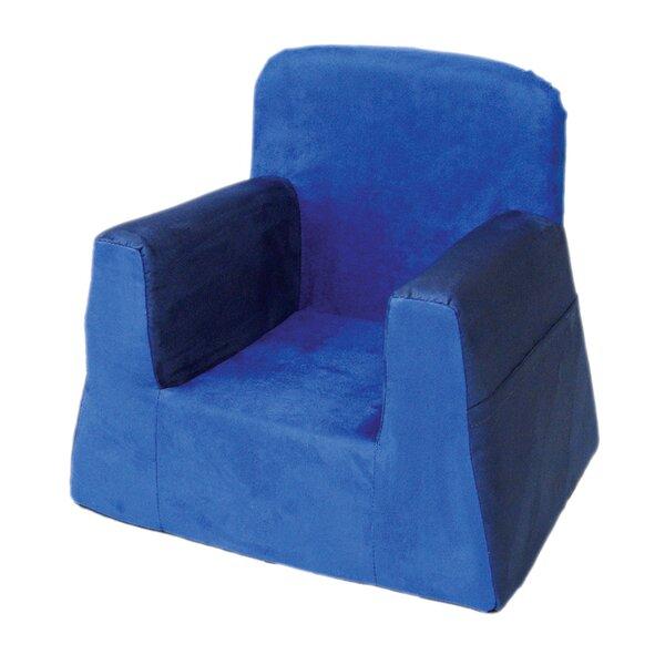 Little Reader Box Cushion Armchair Slipcover by P'kolino