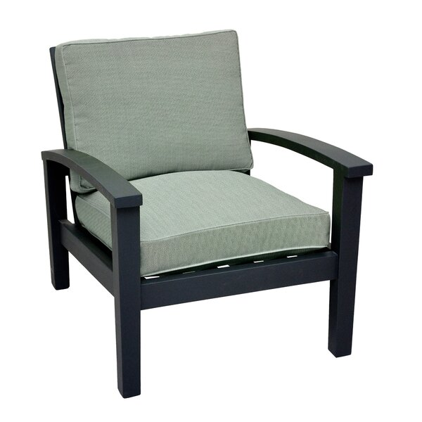 Park Slope Deep Seat Patio Chair with Cushion by Charlton Home