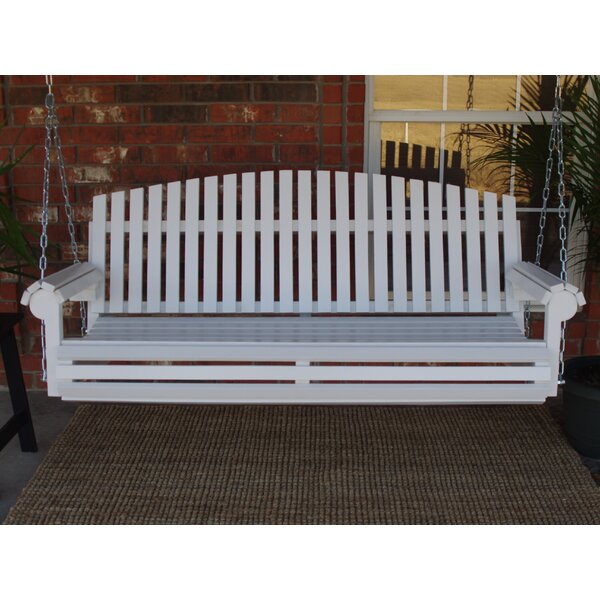 Soder Fan Back Style Porch Swing by August Grove August Grove