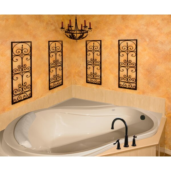 Designer Eclipse 64 x 64 Whirlpool Bathtub by Hydro Systems