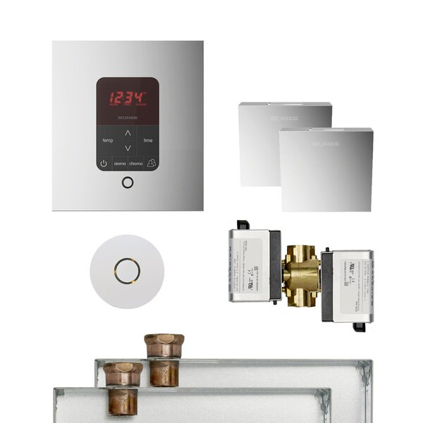 Butler Square Steam Thermostat, Timer, and Steamhead by Mr. Steam