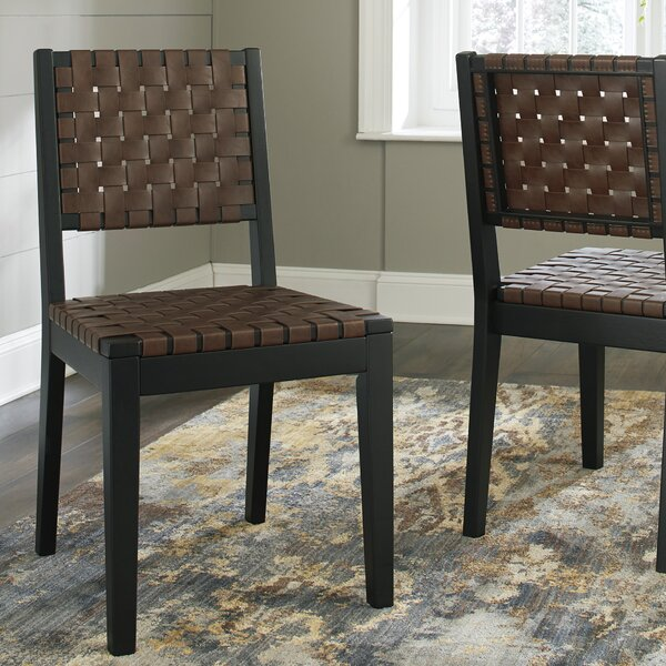 McLaurin Solid Wood Dining Chair (Set of 2) by Loon Peak