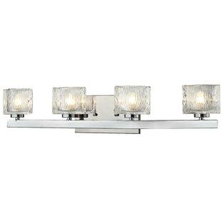 Inexpensive Kolar 4-Light Vanity Light By Latitude Run