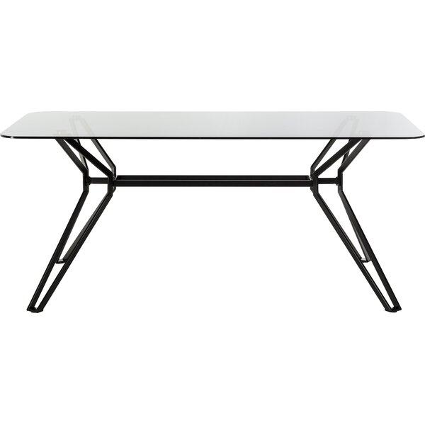 Camron Metal Base Dining Table by Orren Ellis Orren Ellis