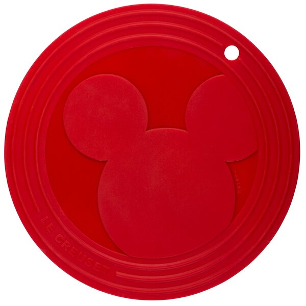 Mickey Mouse Silicone Trivet by Le Creuset