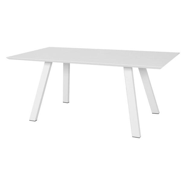 Celestia Aluminum Dining Table by Wade Logan