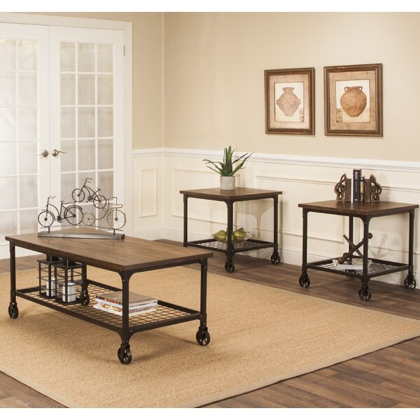 Cédric 3 Piece Coffee Table Set by 17 Stories