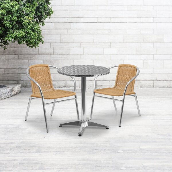 Castile 5 Piece Dining Set by Winston Porter