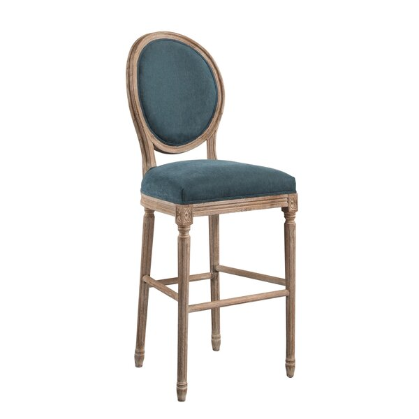 Manlius Vintage Round Back 30 Bar Stool by Ophelia & Co.
