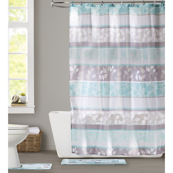 Goldston Shower Curtain Set by Darby Home Co
