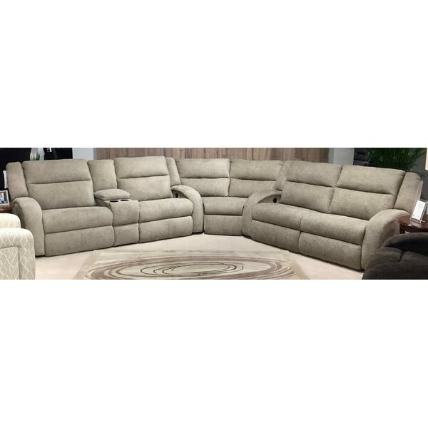Maverick Symmetrical Leather Reclining Sectional by Southern Motion