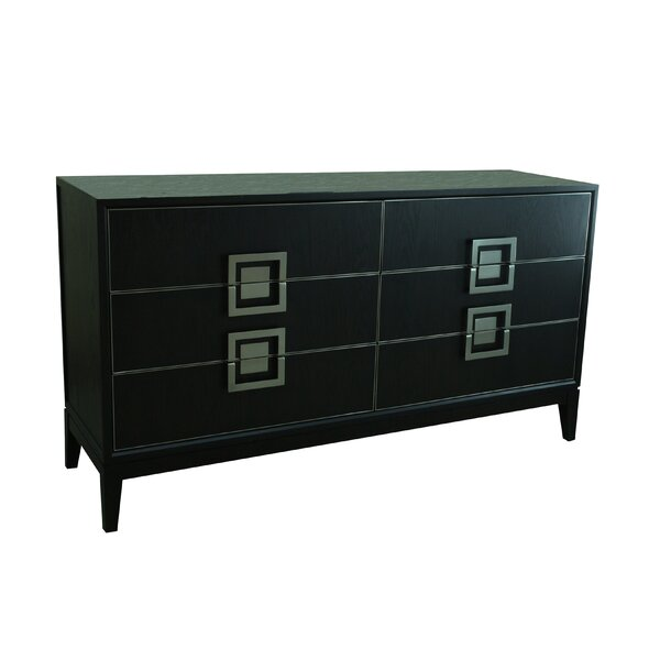 Bozkov 6 Drawer Double Dresser by Red Barrel Studio
