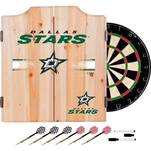 NHL Dartboard and Cabinet Set by Trademark Global| @ $399.99
