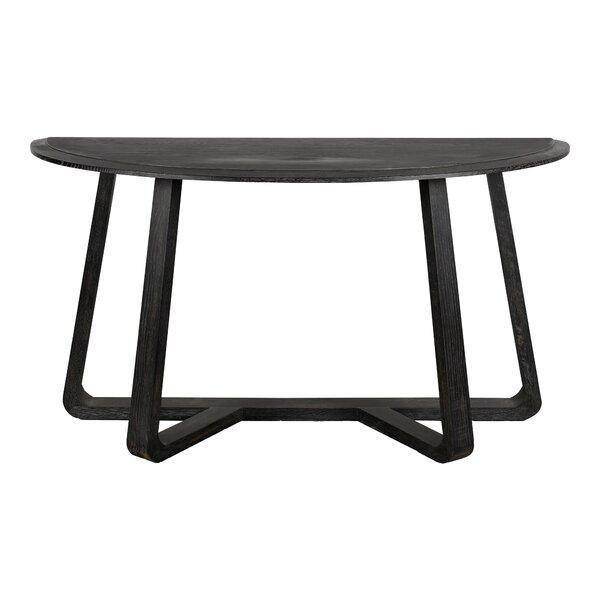 Gracie Oaks Black Console Tables