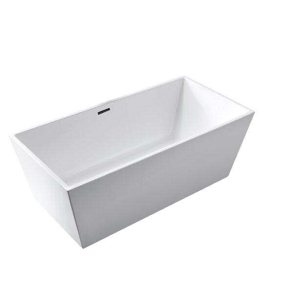 Vienna 59 x 31 Freestanding Soaking Bathtub by Aqualife Corp