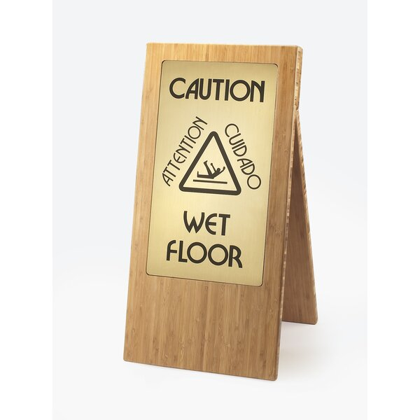 Wet Floor Sign by Cal-Mil