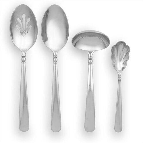 Pearl Platinum 4 Piece Specialty Spoon by Lenox