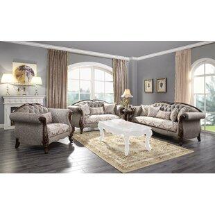 Stockport 3 Piece Standard Living Room Set by Astoria Grand