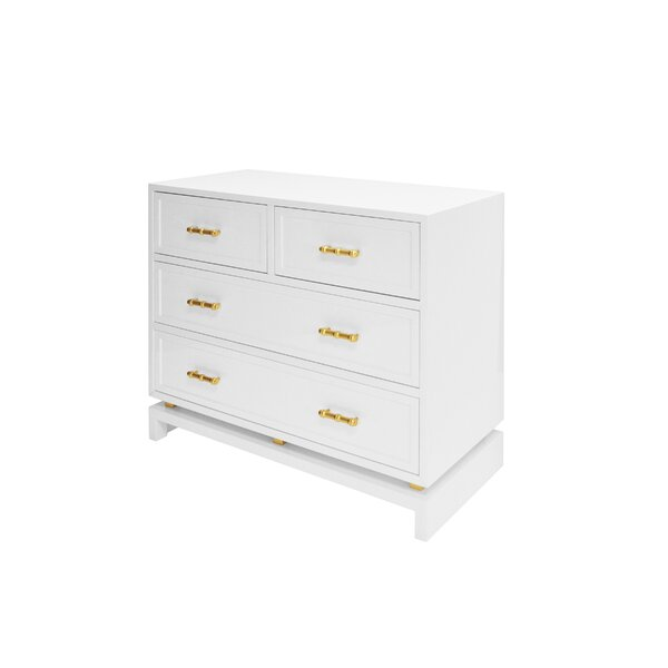 4 Drawer Accent Chest by Worlds Away