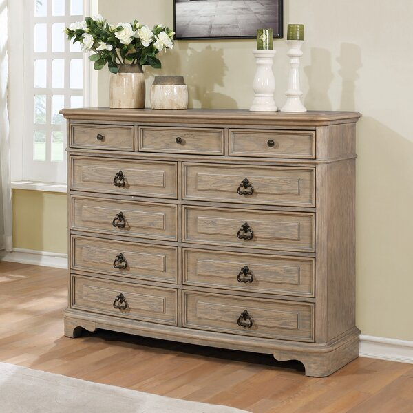 Pennington 11 Drawer Standard Dresser/Chest by One Allium Way
