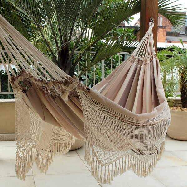Fair Trade Double Tree Hammock by Novica