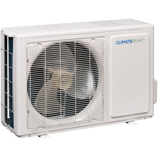 12,000 BTU Ductless Mini Split Air Conditioner with Heater and Remote by ClimateRight