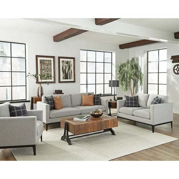 Tyndall 3 Piece Living Room Set by Gracie Oaks