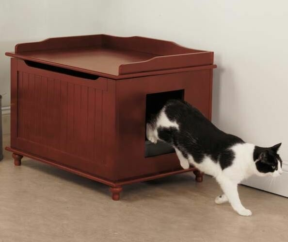 Meow Town Litter Box Enclosure by Meow Town