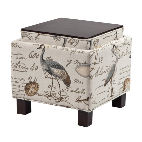 Little River Storage Ottoman by Beachcrest Home