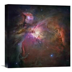 Orion Nebula Photographic Print on Wrapped Canvas by Global Gallery