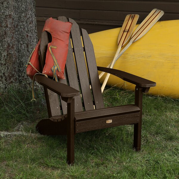 Hamptonburgh Essential Plastic Adirondack Chair by Beachcrest Home Beachcrest Home