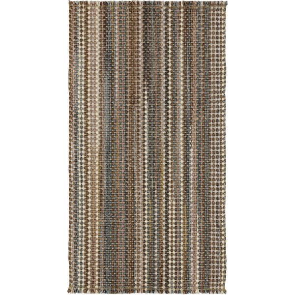 Porcupine Mountains Hues Tan Area Rug by Loon Peak
