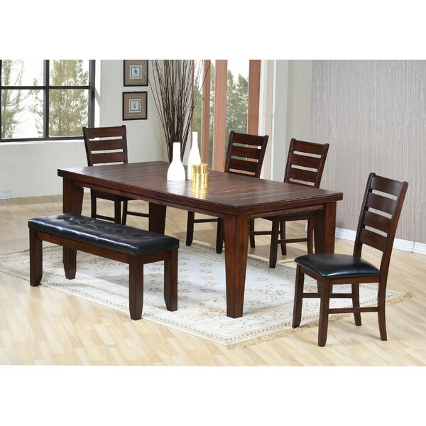 Wlosokova 6 Piece Extendable Dining Set by Red Barrel Studio