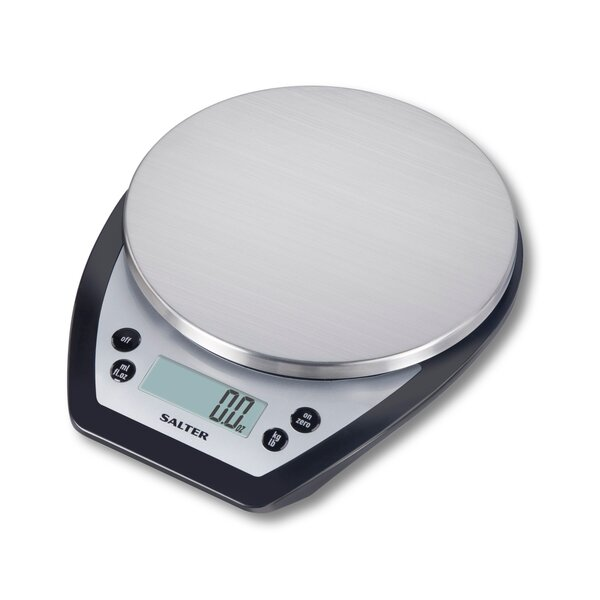 Salter Stainless Steel Aquatronic Digital Kitchen Scale by Taylor