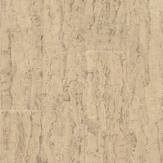 Almada 4-1/8 Cork Tile Flooring in Tira Areia by US Floors