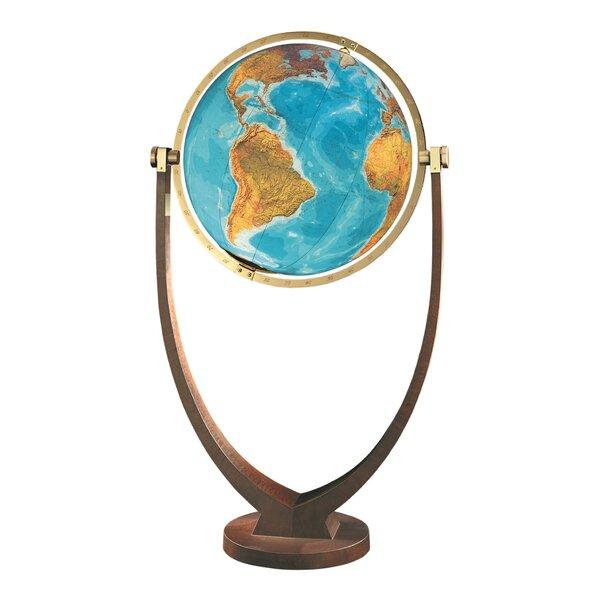 Osnabruck Illuminated Floor Globe by Columbus Globe