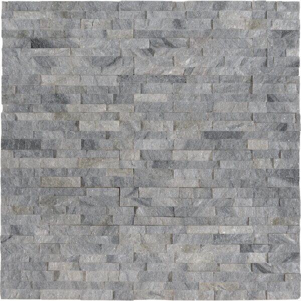 Sky Mini Marble Mosaic Tile in Gray by MSI