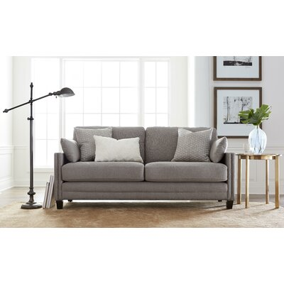 Arm Sofa Square Gray pic