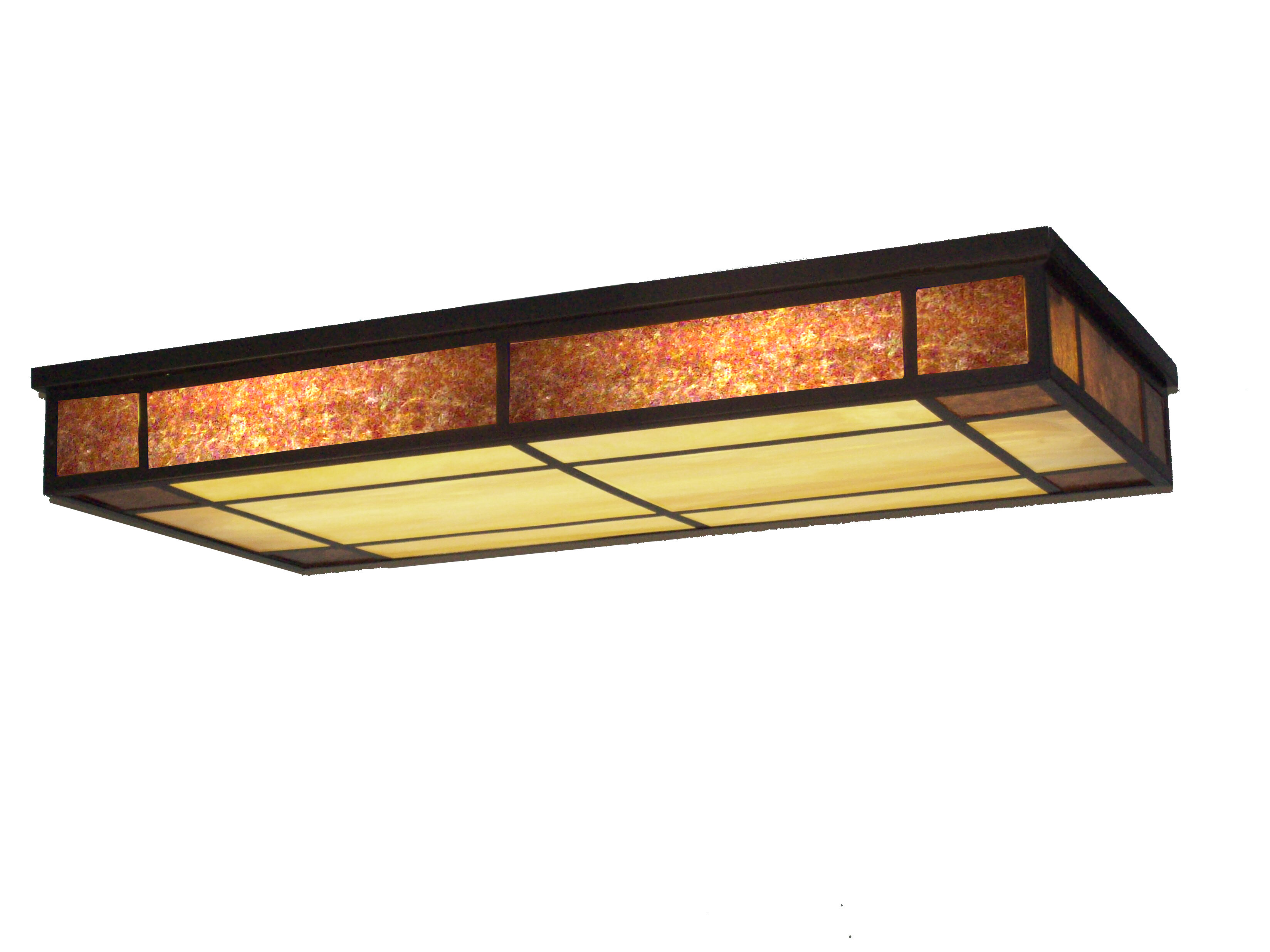 Meyda Tiffany Polaris Oblong 3 Light Flush Mount Wayfair