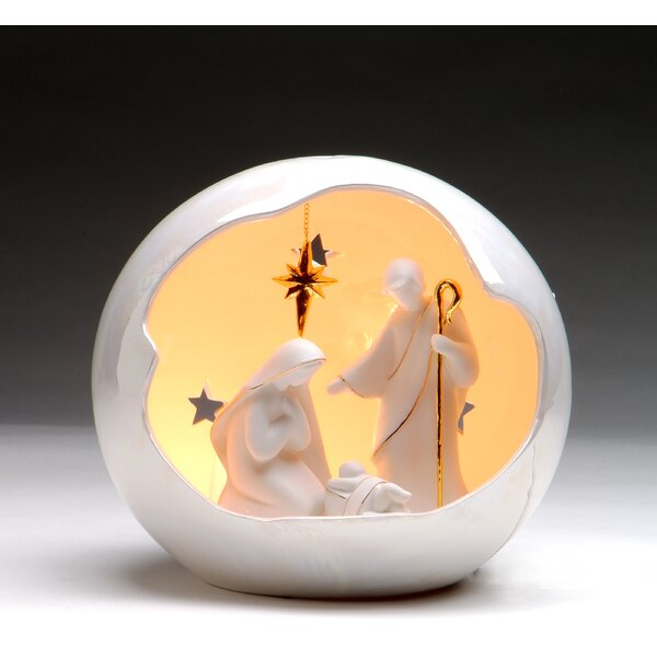Medium Globe Holy Family Night Light by Cosmos Gifts