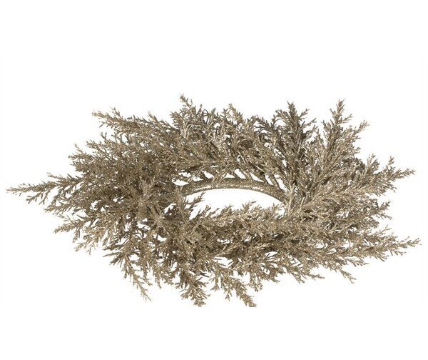 Arborvitae Wreath (Set of 2) by The Holiday Aisle
