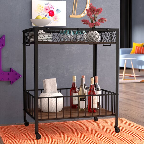 Mchale Bar Cart by Williston Forge