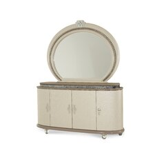 Overture 8 Drawer Dresser and Mirror by Michael Amini (AICO)