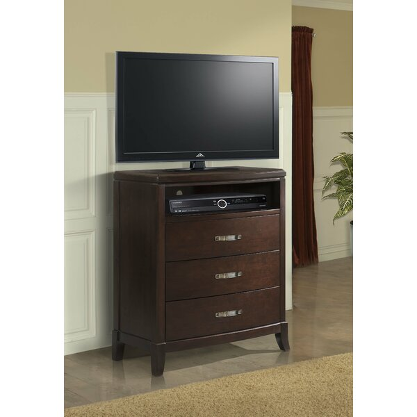 Read Reviews Mcduffie 3 Drawer Media Chest