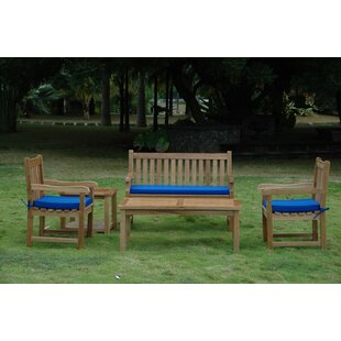 Farnam 5 Piece Teak Sofa Seating Group By Rosecliff Heights