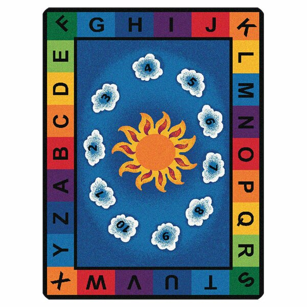 Giardina Sunny Day Learn and Play Kids Area Rug by Zoomie Kids