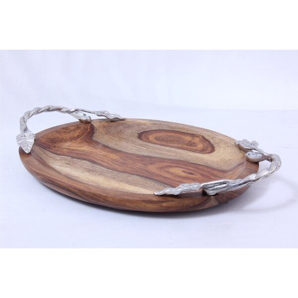 Oasis Wood Serving Platter by Oak Idea Imports