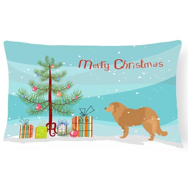 Caucasian Shepherd Dog Indoor/Outdoor Lumbar Pillow by The Holiday Aisle