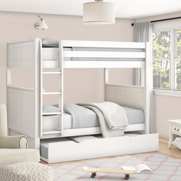 Amani Full Over Full Bunk Bed with Trundle by Viv + Rae