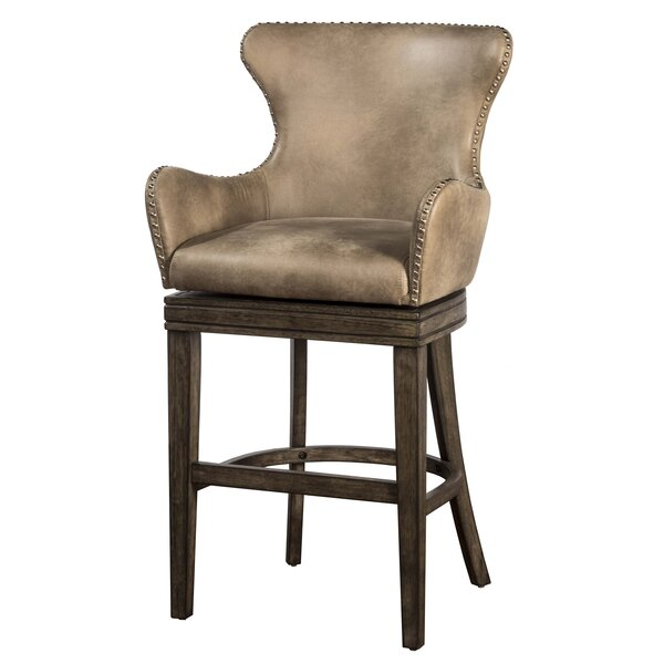 West Hollywood 26 Swivel Bar Stool by Loon Peak